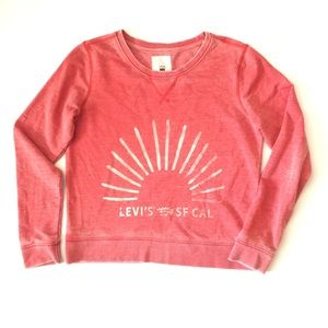 Levi's SF CAL faded and cool sweatshirt Size M